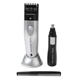 Vidal Sasson VSCL817 Cord/Cordless Trimmer with Groomer
