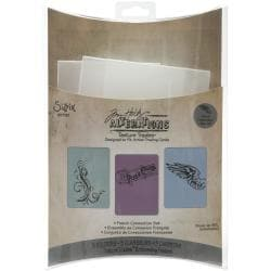Sizzix French Connection Texture Trades Embossing Folders (Pack of 3)