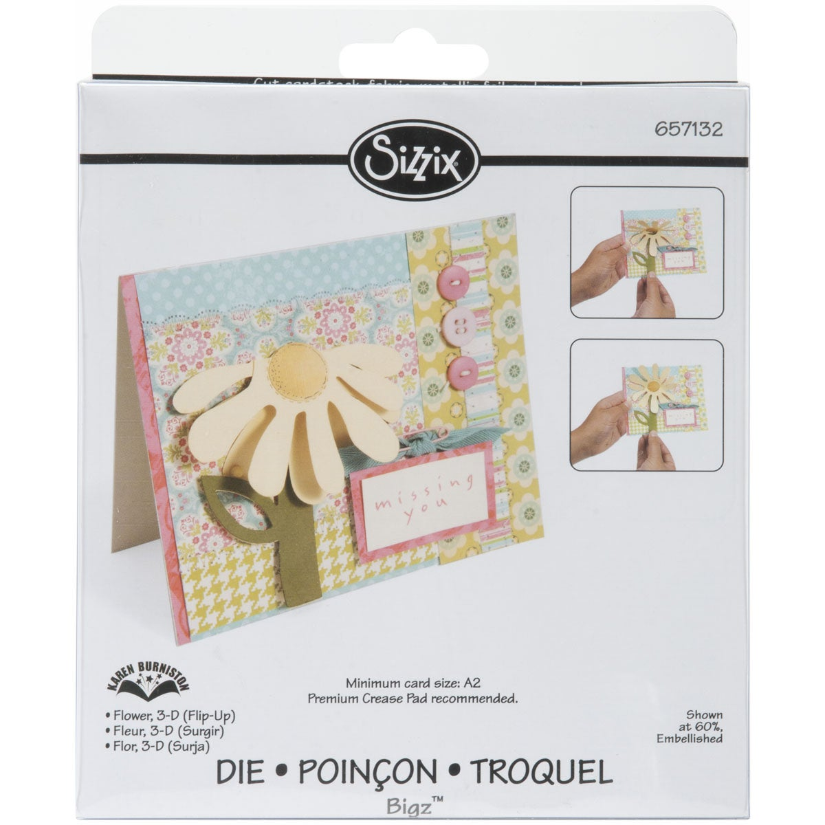 SIZZIX BY ELLISON Sizzix 'Flower 3-D Flip-Up' Bigz BIGkick/ Big Shot Die at Sears.com