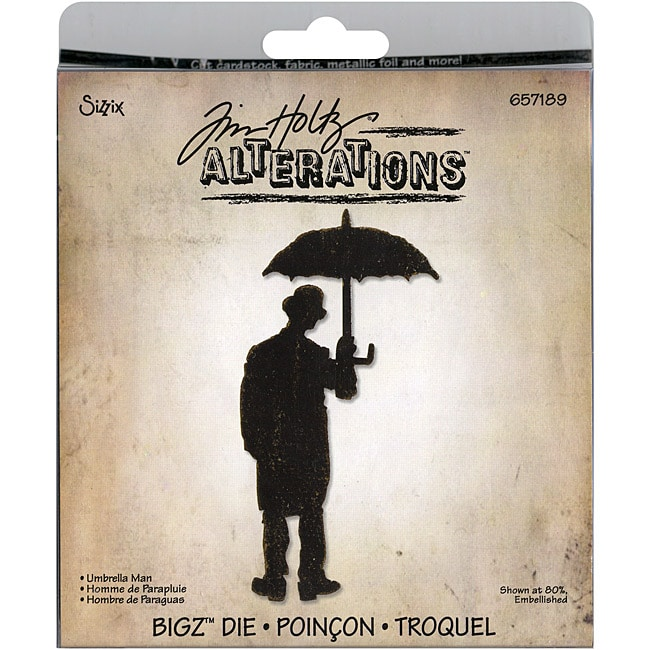 SIZZIX BY ELLISON Sizzix Bigz 'Umbrella Man' BIGkick Big Shot Die By Tim Holtz at Sears.com