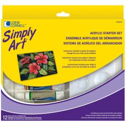 Simply Art 15-piece Acrylic Starter Set