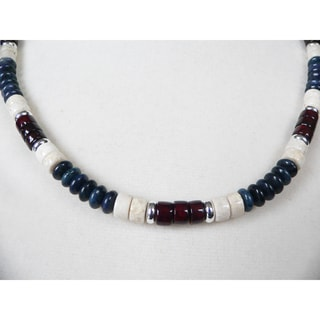 Handcrafted Silver Plated Pipeline Necklace