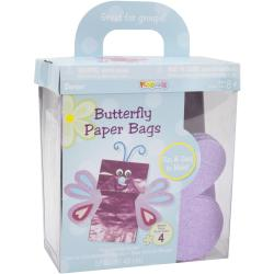 Darice Paper Bag Butterfly Foam Kit