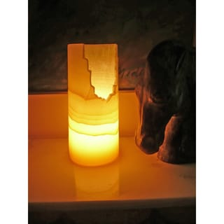 Handmade Horreya Alabaster Lamp (Egypt)