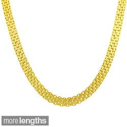 Fremada 14k Yellow Gold Bizmark Chain (16-20 inch)
