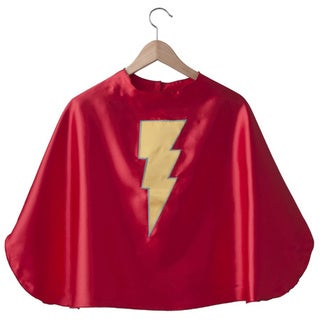 Power Capes Red Lightning Bolt Superhero Cape