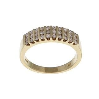 Kabella 18k Yellow Gold 2/5ct TDW Diamond Ring (G-H, SI1-SI2)