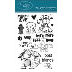 Technique Tuesday 'Who Let The Dogs Out' Clear Stamp