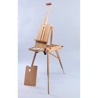 Martin Full Size Rolling Rivera French Sketch Box Artist Easel