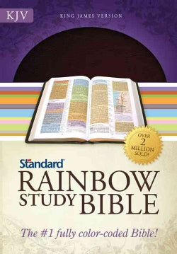 Rainbow Study Bible: King James Version, Brown Bonded Leather (Paperback)
