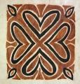 Bark Cloth Flower Siapo Art (Samoa)