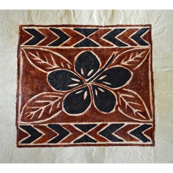 Bark Cloth Hibiscus Siapo Art (Samoa)