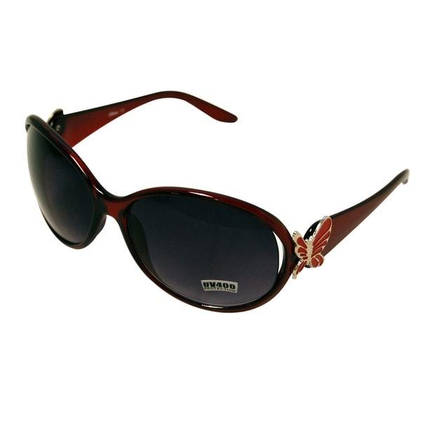 Women's Red Fashion Sunglasses