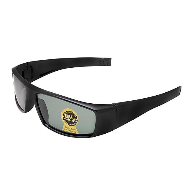 Men's Onyx Black Fashion Sunglasses