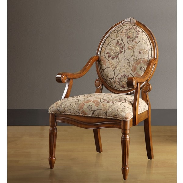Tulamore Jewel Scroll Arm Chair