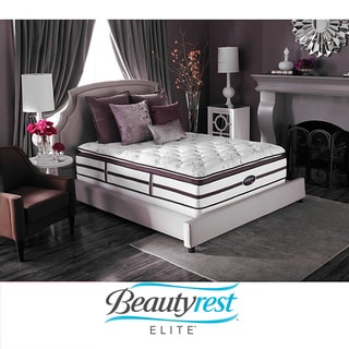 Beautyrest Elite Plato Plush Super Pillow Top King-size Mattress Set