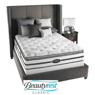 Beautyrest Classic Meyers Plush Firm Pillow Top Cal King-size Mattress Set