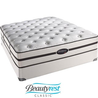 Beautyrest Classic Porter Plush Firm Full-size Mattress Set