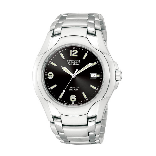 Citizen Men's Eco-Drive 180 WR100 Titanium Bracelet Watch