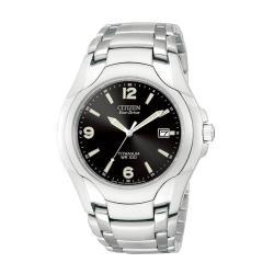 Citizen Men's Eco-Drive 180 WR100 Titanium Bracelet Watch