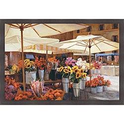 Jan McLaughlin 'Campode Fiori' Framed Print Art