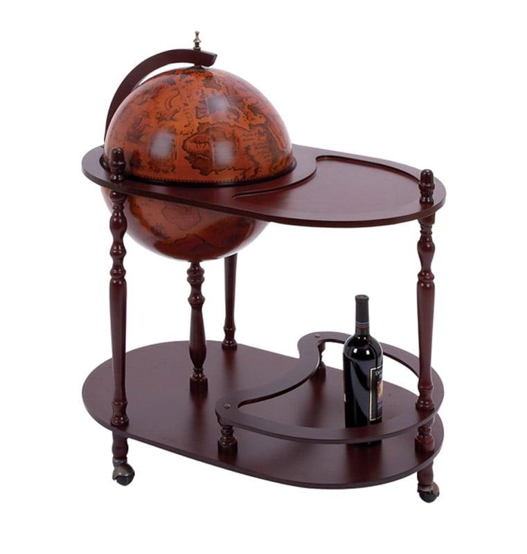 Sixteenth Century Replica Italian-style World Globe Bar