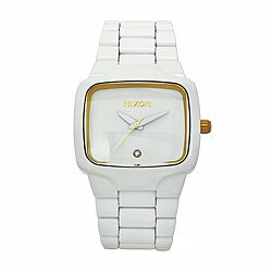 Nixon Men's Player Watch in White