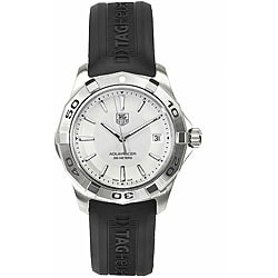 Tag Heuer Men's WAP1111.FT6029 Aquaracer Watch with Silver Dial