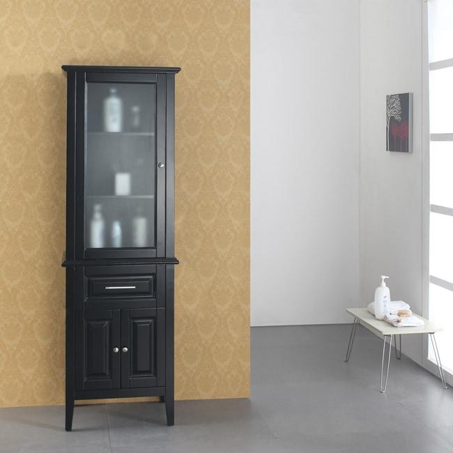 devine 24 inch bathroom vanity side cabinet 13833109