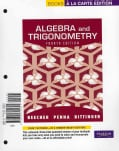 Algebra and Trigonometry: Books a La Carte Edition