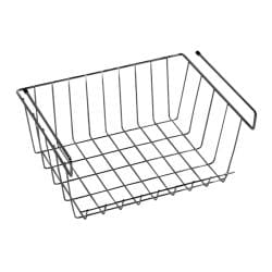Z1 Small Under Shelf Basket Closet Storage
