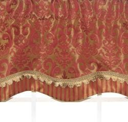 Vanguard Terrazo Scalloped Valance