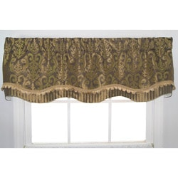 Vanguard Bronze Damask Valance
