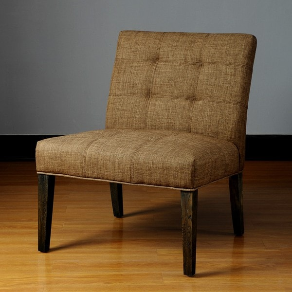Whitney Toast Armless Chair