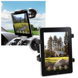 Universal Black Tablet Windshield Mounted Holder
