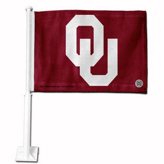 Oklahoma Sooners 19-inch Car Flag