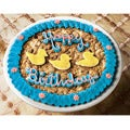 Mrs. Fields Lucky Ducky Birthday Cookie Cake