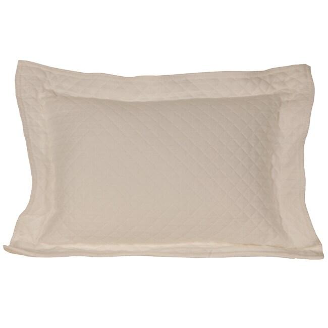 Diamante Ivory Boudior Pillow