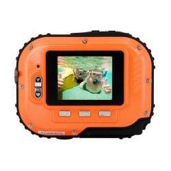 Coleman Mini Xtreme C3WP-O 5MP Waterproof Orange Digital Camera