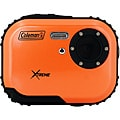 Coleman Mini Xtreme C3WP-O 5MP Waterproof Orange Digital Camera