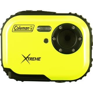 Coleman Mini Xtreme C3WP-Y 5MP Waterproof Yellow Digital Camera