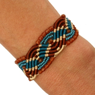Lucia Indian Summer Macrame Bracelet (Guatemala)