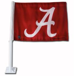 Alabama Crimson Tide 19-inch Car Flag