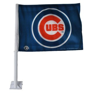 Chicago Cubs 19-inch Car Flag