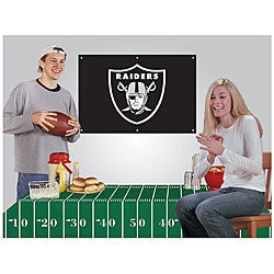 Oakland Raiders NFL Football Party Kit