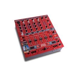 DJ-Tech DDM-3000R Professional Red DJ Mixer