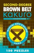 Second-Degree Brown Belt Kakuro (Paperback)