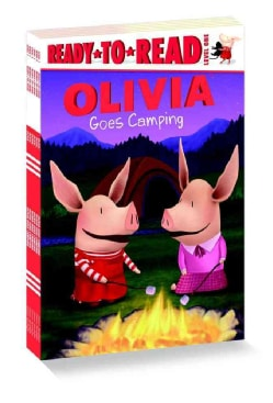 Olivia Ready-To-Read: Olivia Goes Camping / Olivia and Her Ducklings / Olivia and the Snow Day / Olivia Plants a ... (Paperback)