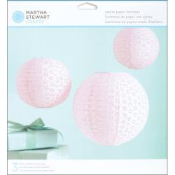 Martha Stewart Vintage Pink Girl Paper Lanterns Kit
