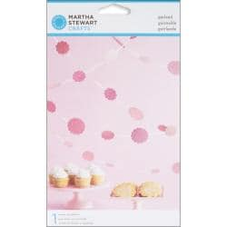 Vintage Girl Glittered Dot Pink Garland Kit